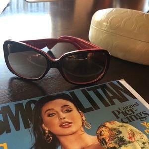 Coach Tasha Pink Sunglasses